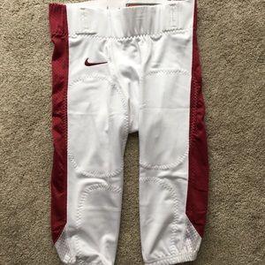 Nike Men's Football Pants Maroon White 615745-104